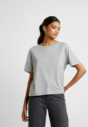 T-shirt - bas - grey mel