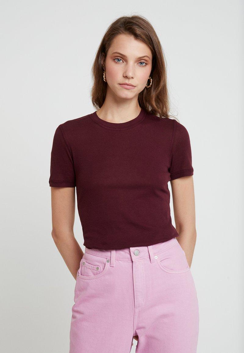 Samsøe & Samsøe - ESTER - Basic T-shirt - port royale
