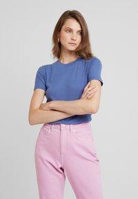 Samsøe Samsøe - ESTER - T-shirt basic - bijou blue - 0