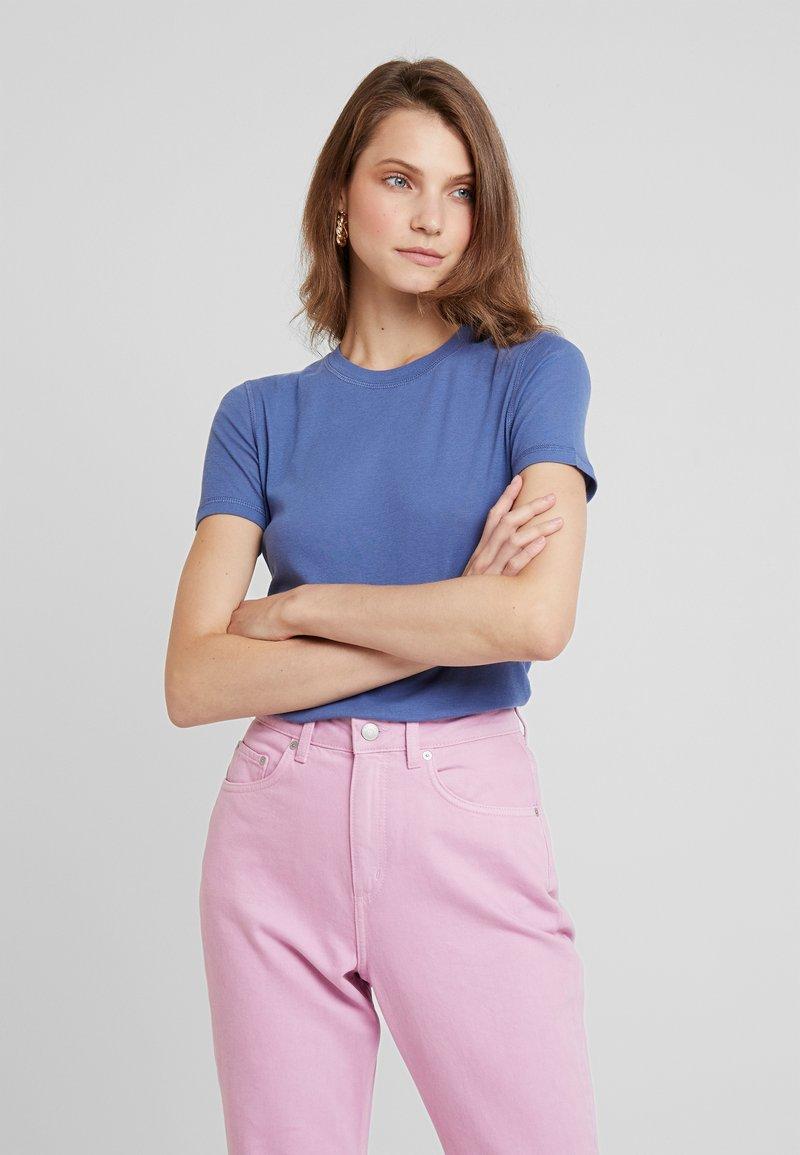 Samsøe Samsøe - ESTER - T-shirt basic - bijou blue