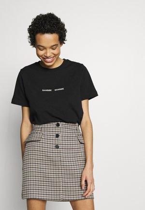 BARLETTA - T-shirts med print - black