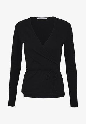 SARAIWRAP - Langarmshirt - black