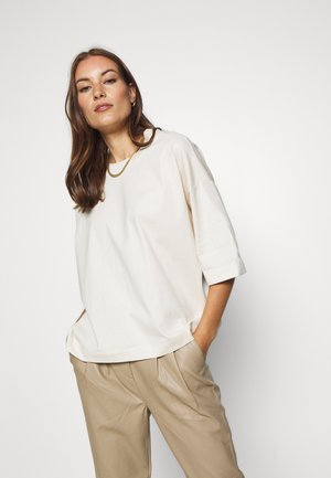 ELOISE - T-shirt basic - warm white