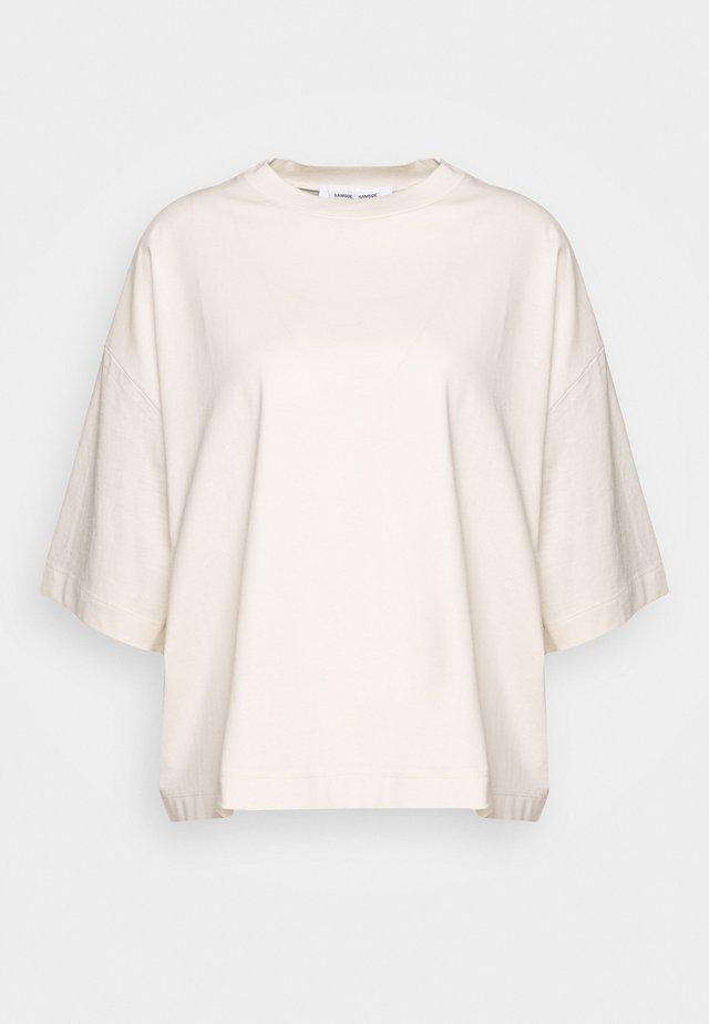 ELOISE - Jednoduché triko - warm white
