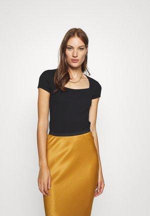 CLIO - T-Shirt basic - black