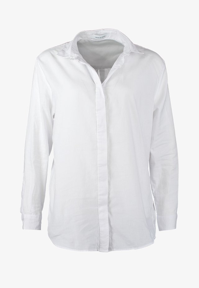 CAICO - Button-down blouse - white