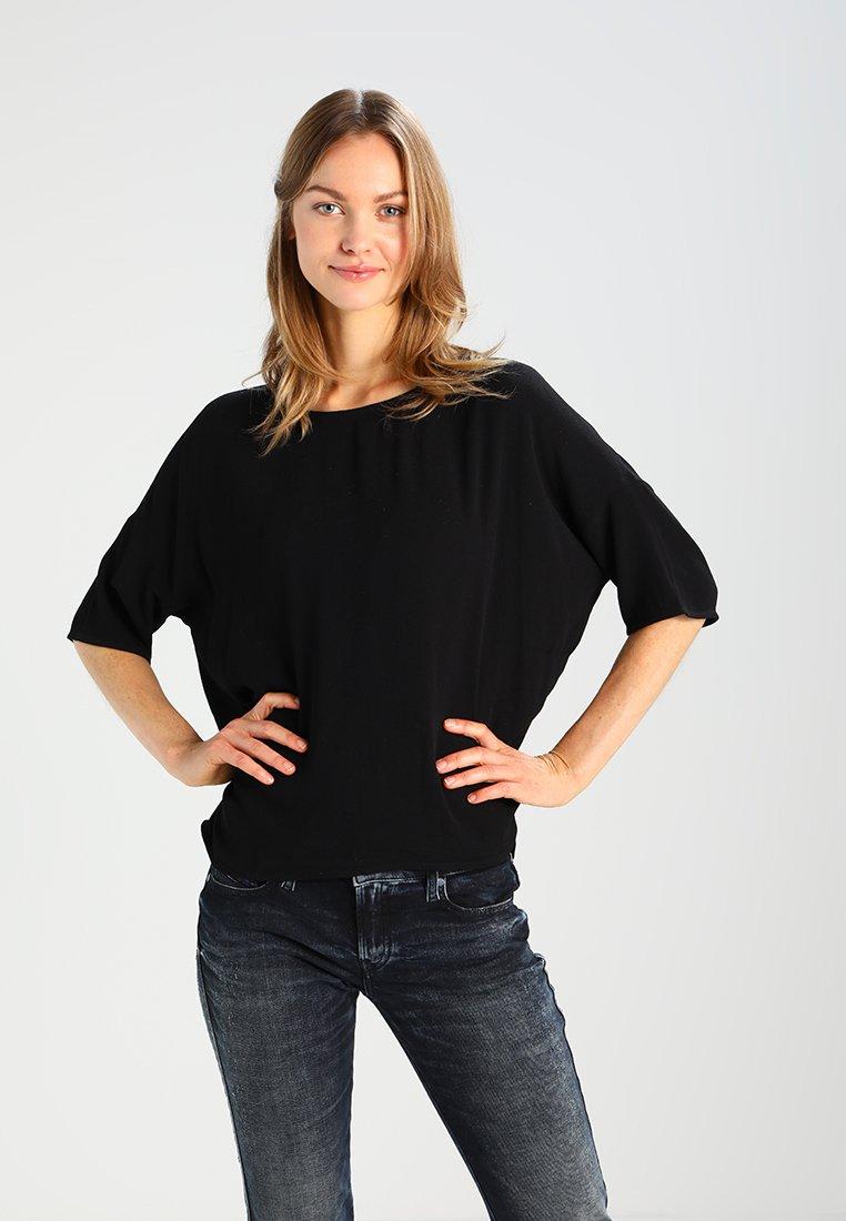 Samsøe & Samsøe - MAINS TEE - Blůza - black