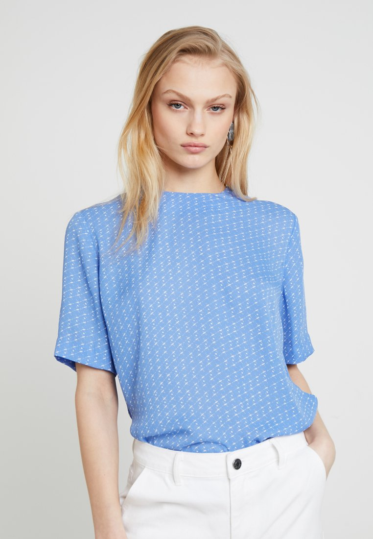 Samsøe Samsøe - AMABEL - Blouse - blue starry