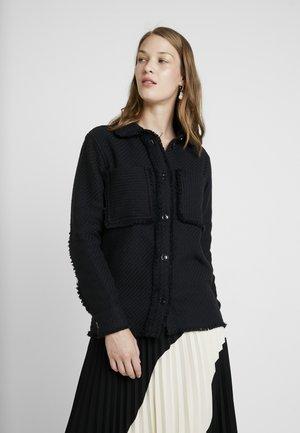 ABIONA OVERSHIRT - Overhemdblouse - black