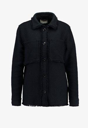 ABIONA OVERSHIRT - Skjorte - black