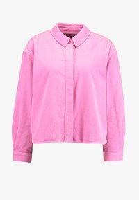Samsøe Samsøe - KELLY OVERSHIRT - Skjorte - bubble gum pink - 4