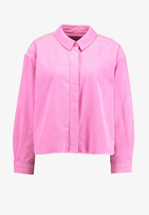 KELLY OVERSHIRT - Skjortebluser - bubble gum pink