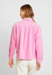 Samsøe Samsøe - KELLY OVERSHIRT - Skjorte - bubble gum pink - 2
