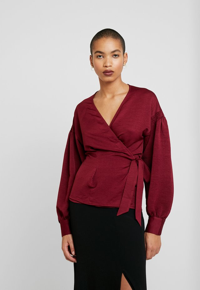 MERRILL BLOUSE - Blouse - rhododendron