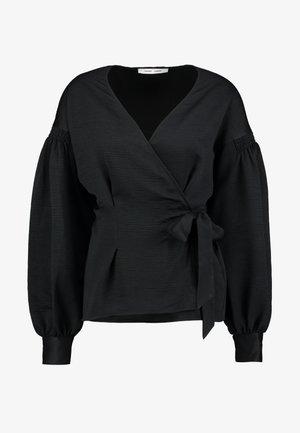 MERRILL BLOUSE - Blusa - black