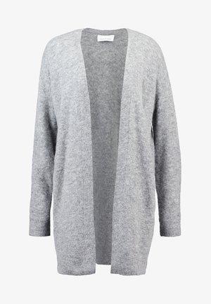 NOR CARDIGAN - Cardigan - grey melange