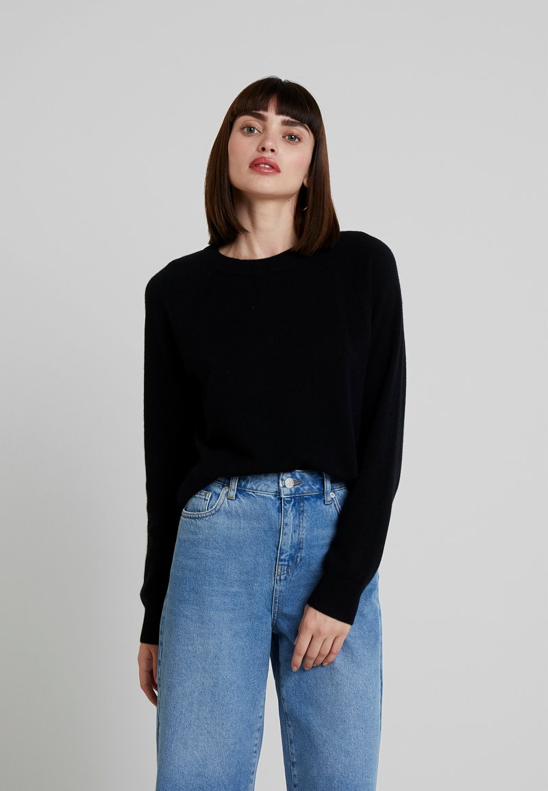 Samsøe & Samsøe - BOSTON O NECK - Jumper - black