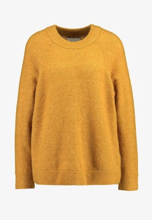 NOR LONG - Strickpullover - inca gold melange