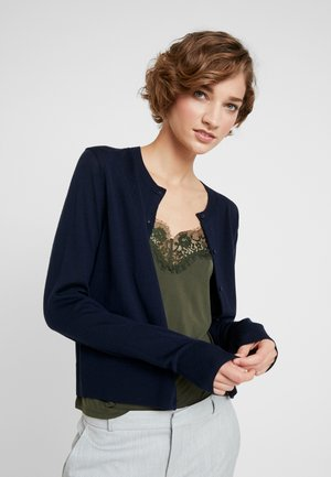 KLEO CARDIGAN - Vest - dark blue