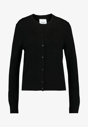 KLEO CARDIGAN - Vest - black