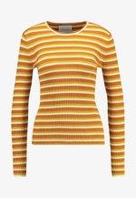 JOLENA - Bluzka z długim rękawem - inca gold
