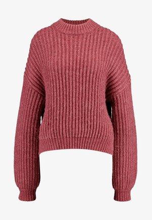 DONA CREW NECK - Sweter - rhododendron