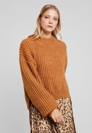 DONA CREW NECK - Jumper - inca gold