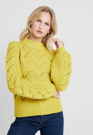HAL CREW NECK - Strickpullover - cress green