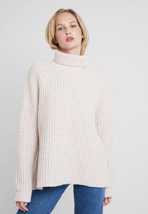 HAL TURTLENECK - Pullover - morganite