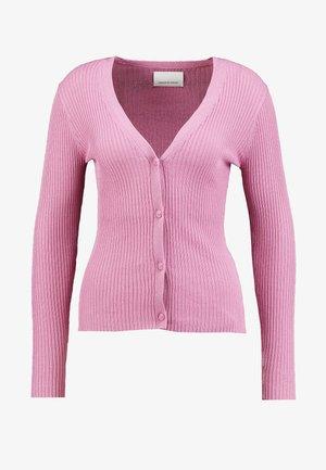 LILLIE CARDIGAN - Chaqueta de punto - bubble gum pink