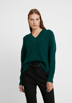ARI V NECK  - Jumper - sea moss
