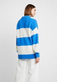 Samsøe Samsøe - RICKIE CREW NECK - Pullover - blue - 2