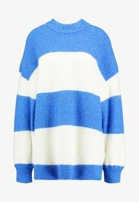 Samsøe Samsøe - RICKIE CREW NECK - Pullover - blue - 4