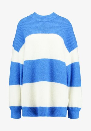 RICKIE CREW NECK - Pullover - blue
