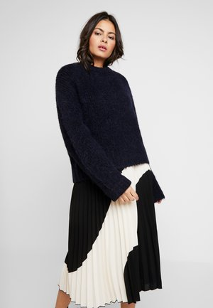 TESSA SHORT CREW NECK - Jumper - night sky