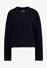 Samsøe Samsøe - TESSA SHORT CREW NECK - Jumper - night sky - 4