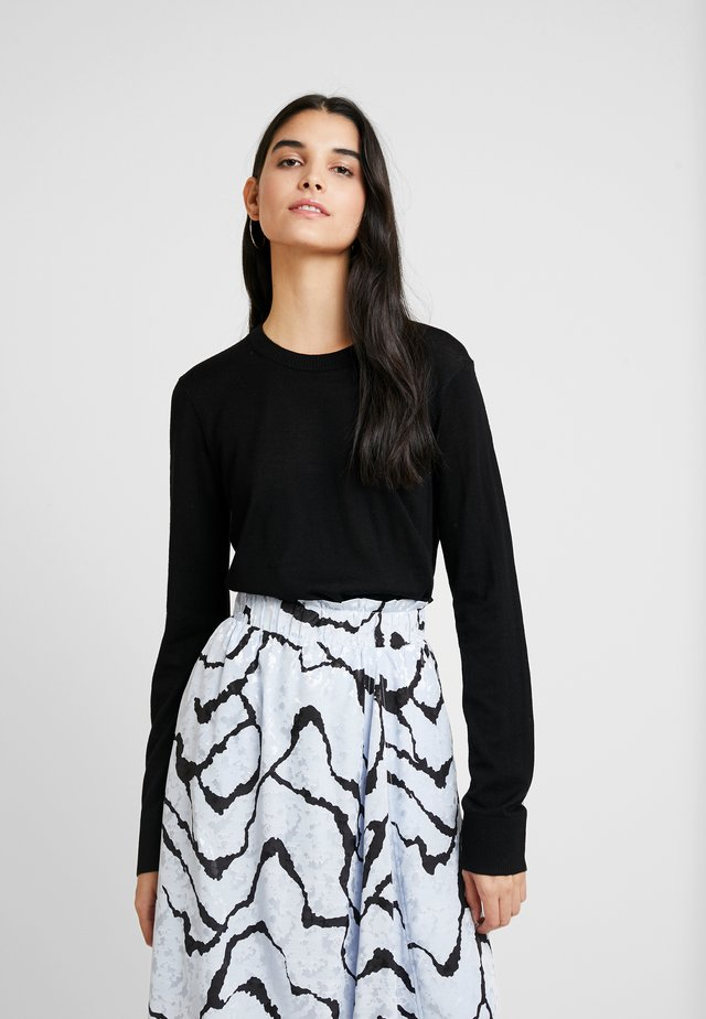 KLEO CREW NECK - Jersey de punto - black