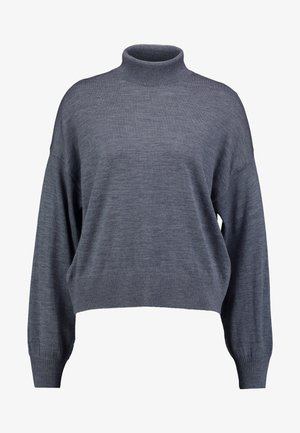 KLEO TURTLENECK - Strikpullover /Striktrøjer - dark grey