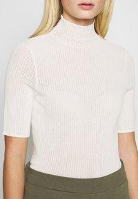 Samsøe Samsøe - LENE - T-shirts med print - white asparagus - 4