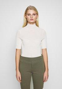 Samsøe Samsøe - LENE - T-shirts med print - white asparagus - 0