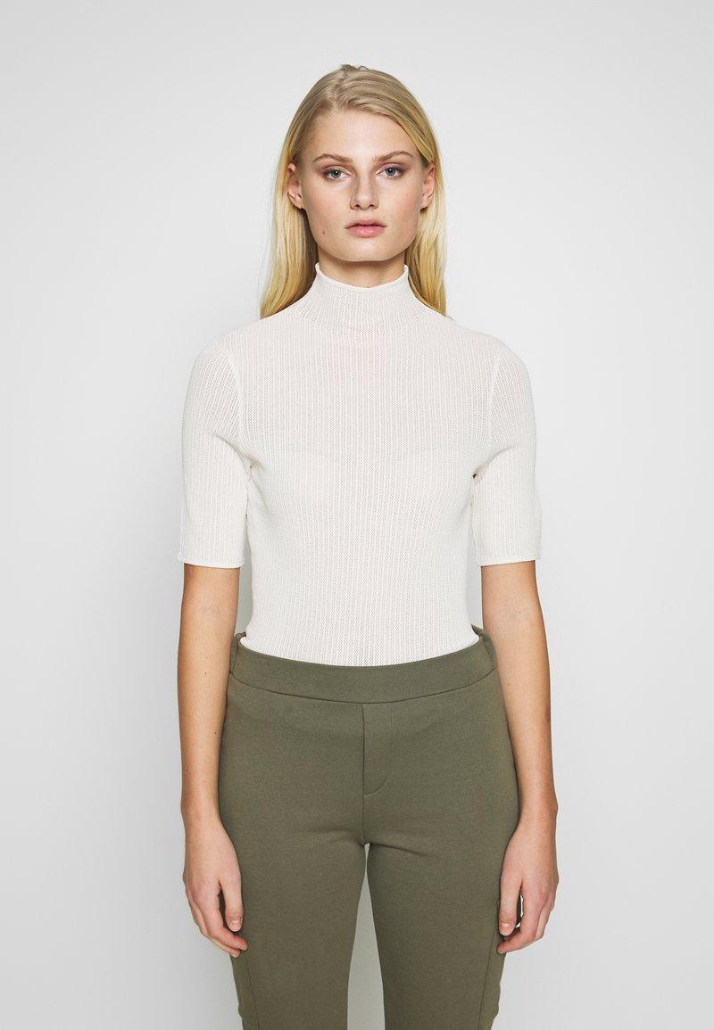 Samsøe Samsøe - LENE - T-shirts med print - white asparagus