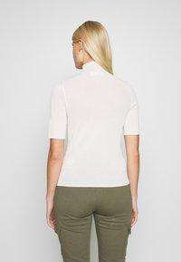 Samsøe Samsøe - LENE - T-shirts med print - white asparagus - 2