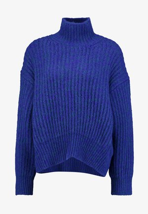 LISE TURTLENECK - Jersey de punto - deep blue melange