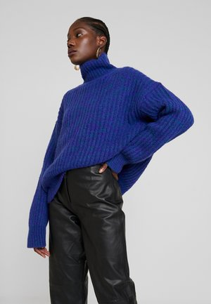 LISE TURTLENECK - Jumper - deep blue melange