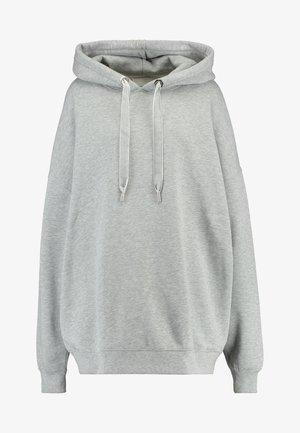HOODIE - Jersey con capucha - grey melange
