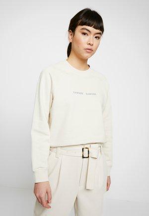 BARLETTA CREW NECK - Sweatshirt - warm white