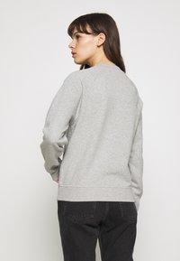 Samsøe Samsøe - BARLETTA CREW NECK - Sweatshirt - grey melange - 2
