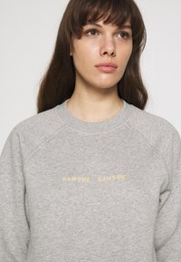 Samsøe Samsøe - BARLETTA CREW NECK - Sweatshirt - grey melange - 4