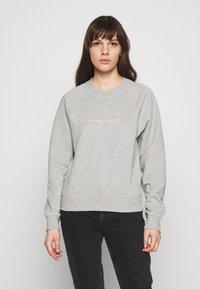 Samsøe Samsøe - BARLETTA CREW NECK - Sweatshirt - grey melange - 0