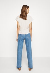 Samsøe Samsøe - RILEY - Jeans Straight Leg - light ozone marble - 2